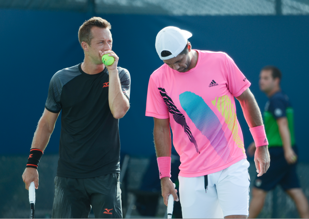 ATP Cincinnati: Kohlschreiber/Verdasco send the eighth seeds Mahut/Roger-Vasselin packing in a tight three-setter