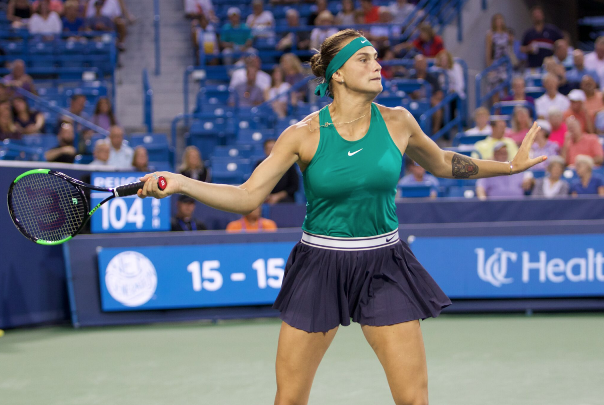 WTA Cincinnati: Aryna Sabalenka books her place in the semifinals