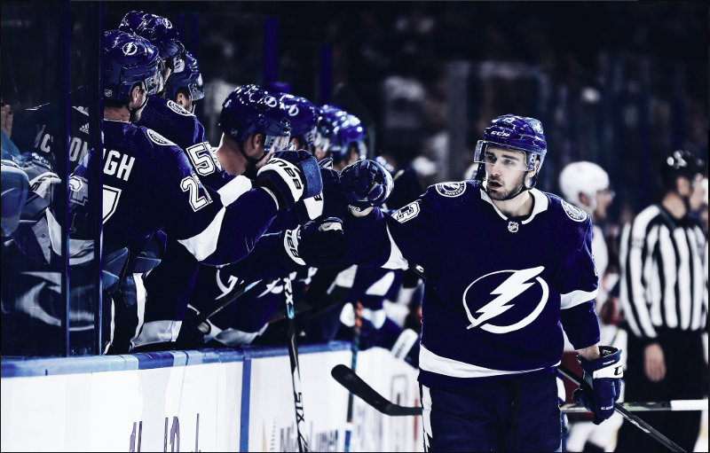 Tampa Bay strikes Lightning into Columbus road trip with 8-2 win