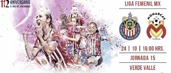 Previa Chivas Femenil - Morelia Femenil: entrar al mejor ritmo del torneo