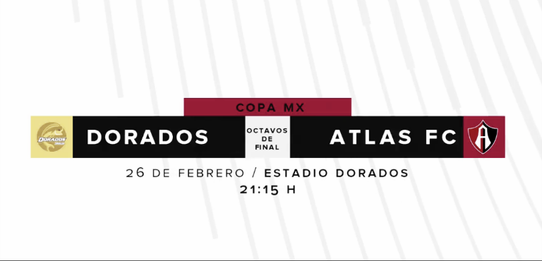 Previa Dorados - Atlas: seriedad a la Copa