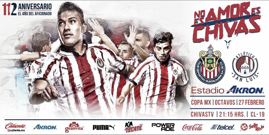 Previa Chivas - Atlético de San Luis: No hay diferencia de divisiones