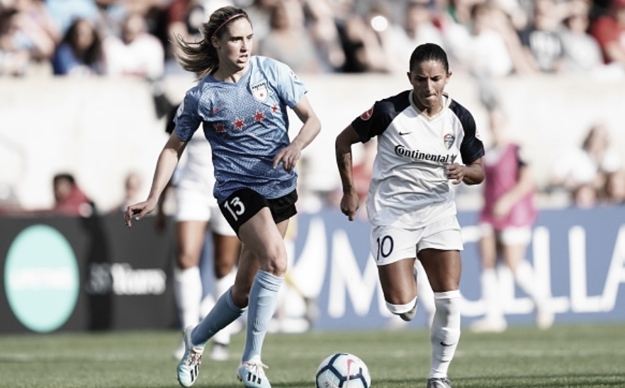 Courage plot to stop Chicago's Kerr in NWSL championship game