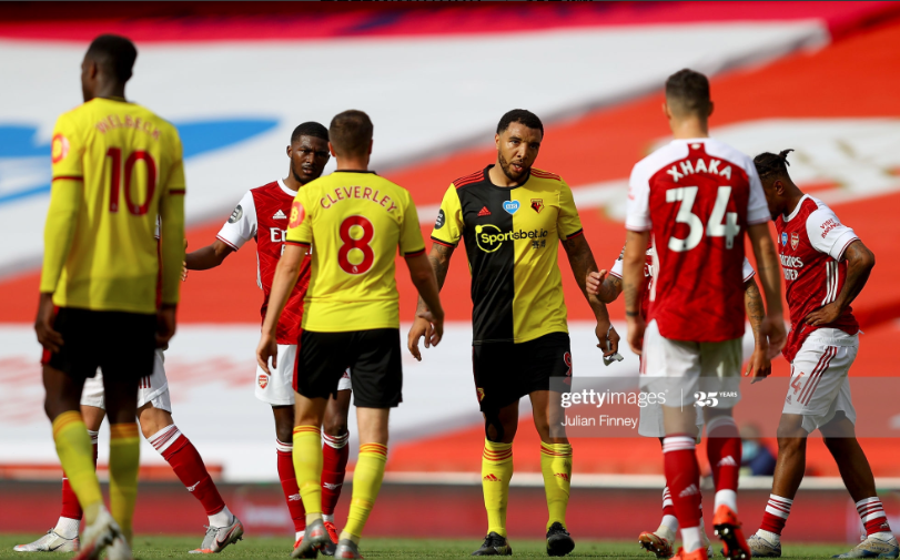 Arsenal 3-2 Watford: Gunners gear up for FA Cup final by relegating Troy Deeney's Hornets