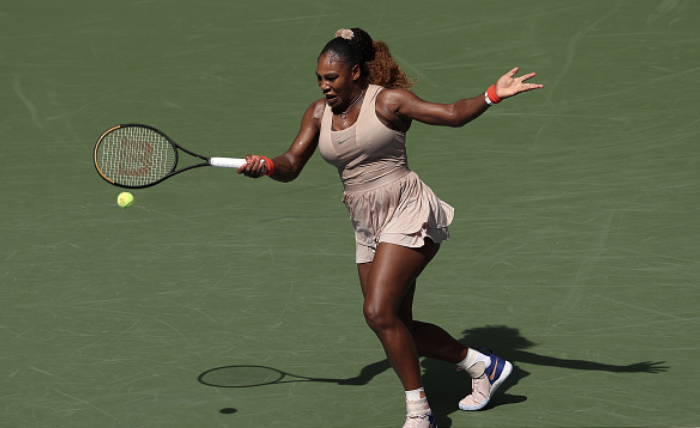 US Open: Serena Williams edges out Maria Sakkari in tight three-setter