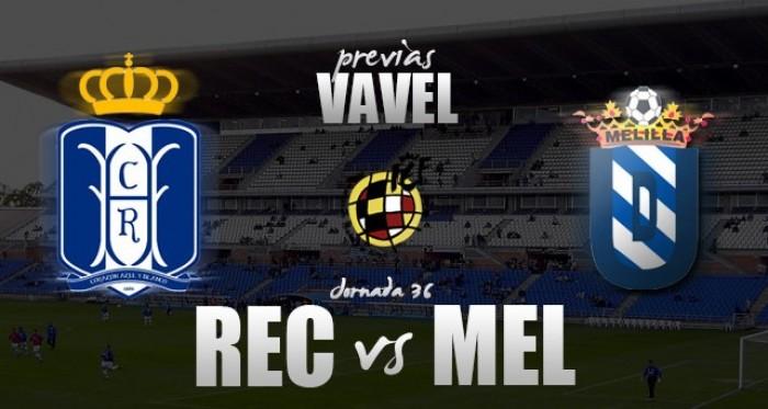 Recreativo de Huelva - UD Melilla: a un partido de la salvación