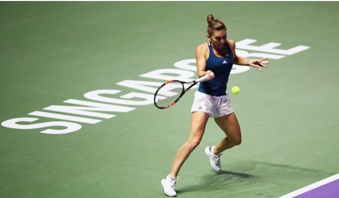 WTA Finals: Simona Halep sends off Madison Keys to secure her first win