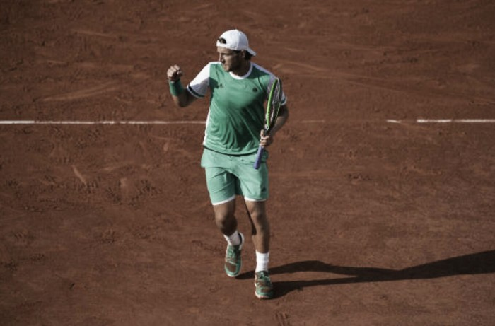 French Open: Lucas Pouille eases past Thomaz Bellucci to progress to the third round