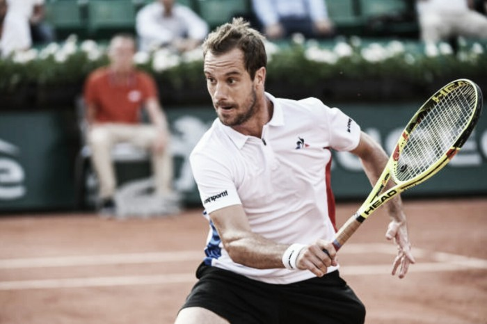 French Open: Richard Gasquet races to victory as he sets up showdown with Gael Monfils