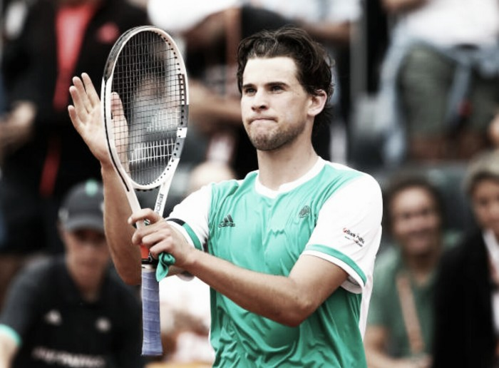French Open: Dominic Thiem too strong for Steve Johnson, advances to the second week in Paris
