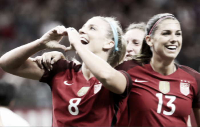 North American powerhouses USWNT and Canada battle to a draw in Vancouver