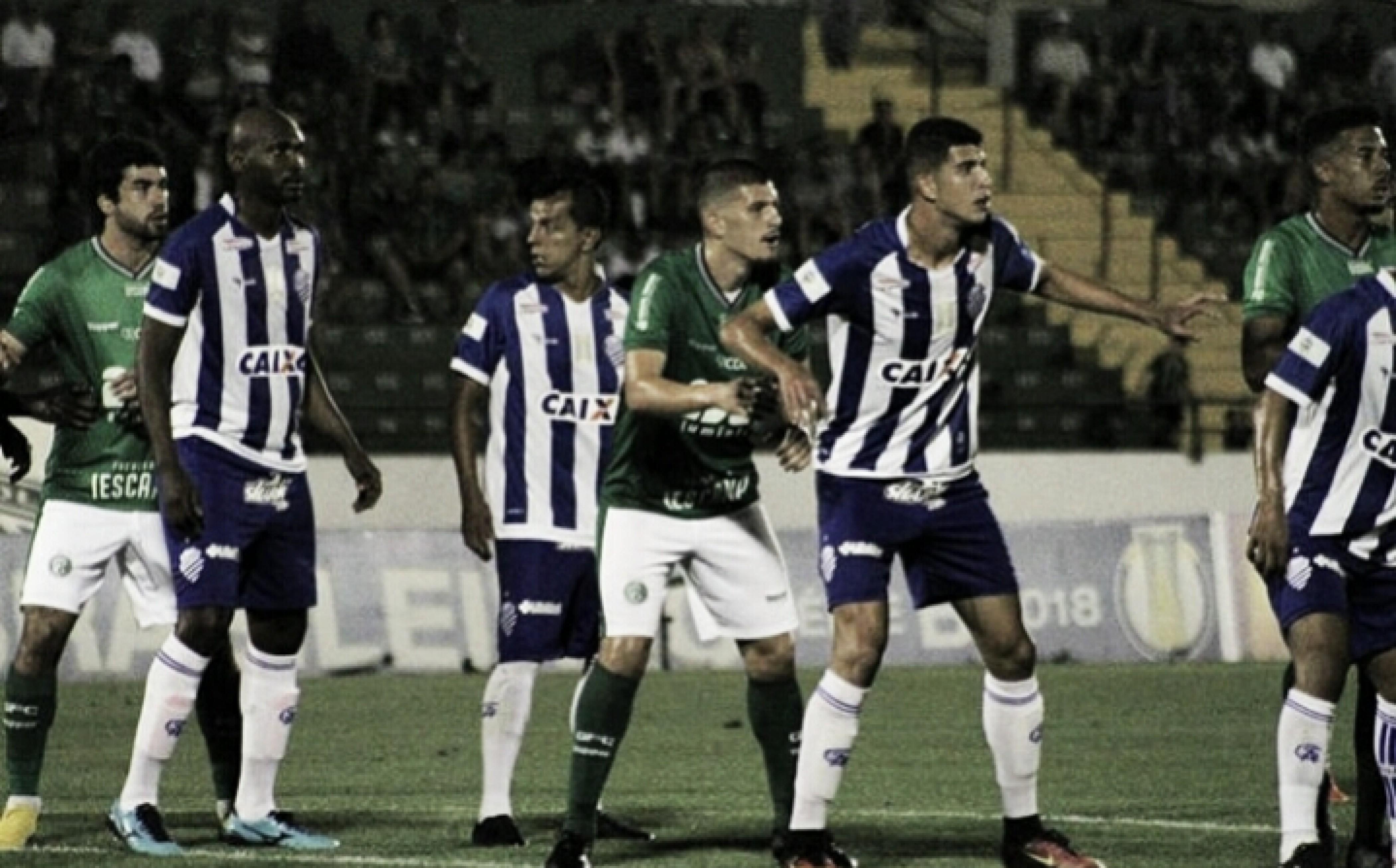 Guarani vence CSA e torce contra Avaí para se manter no G-4