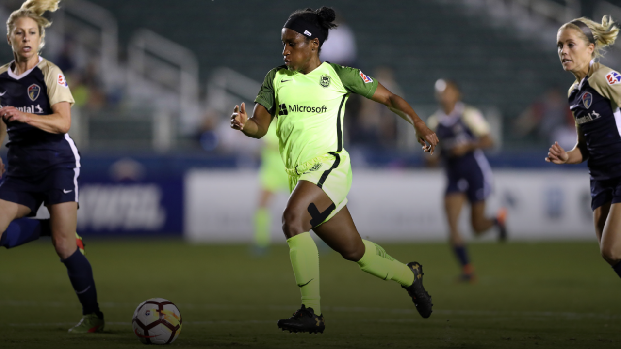Jasmyne Spencer and Morgan Andrews re-sign with Seattle Reign FC