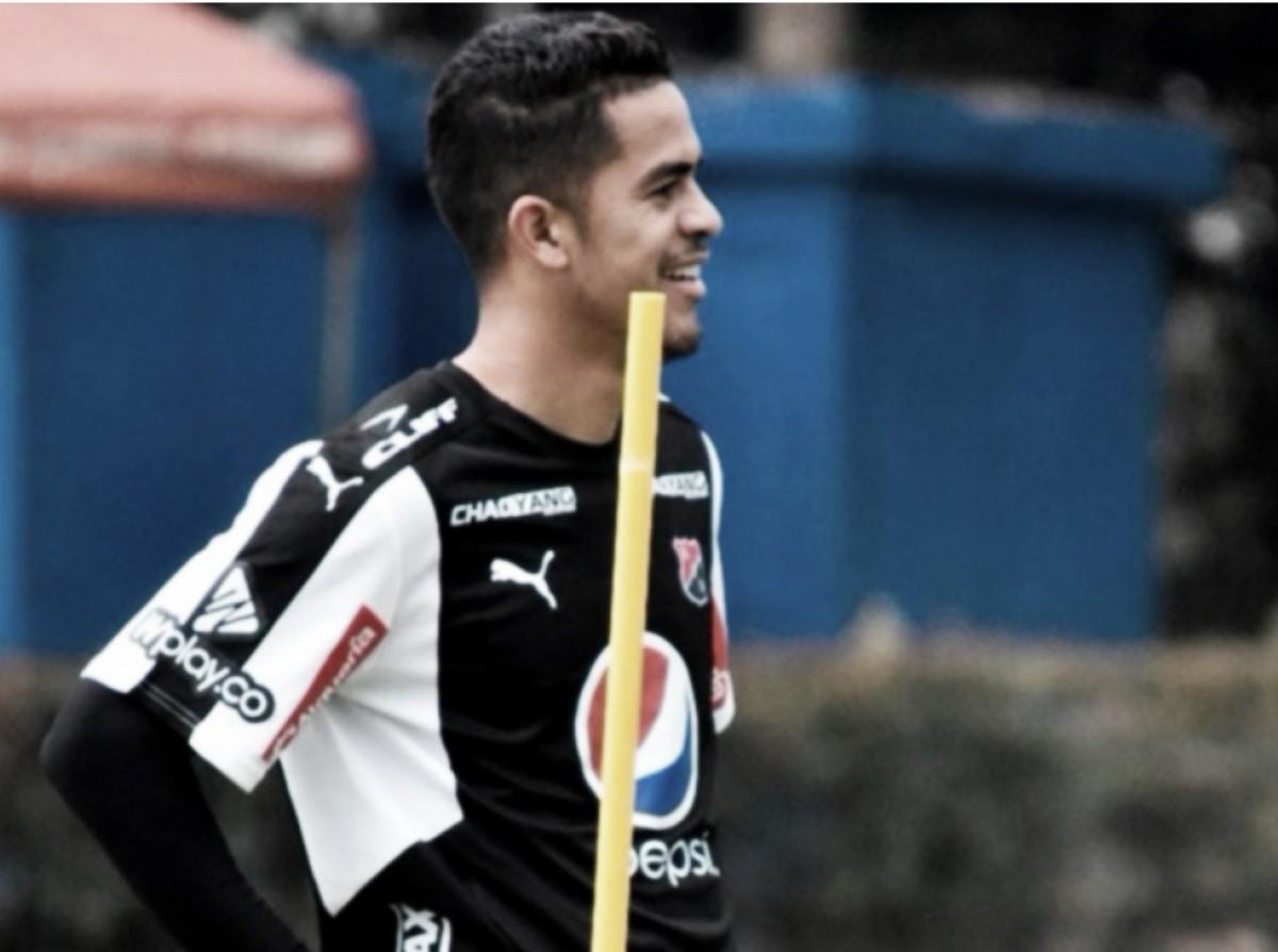 """Yulián Anchico: """"Hoy estamos en Medellín y voy tratar de hacer un buen partido"""""""