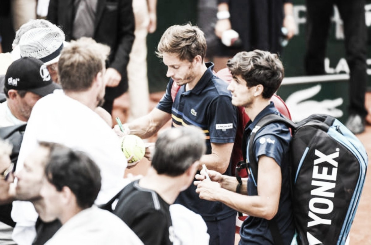 French Open: Herbert/Mahut defeat Johnson/Sock in straight sets to remain the last French hope