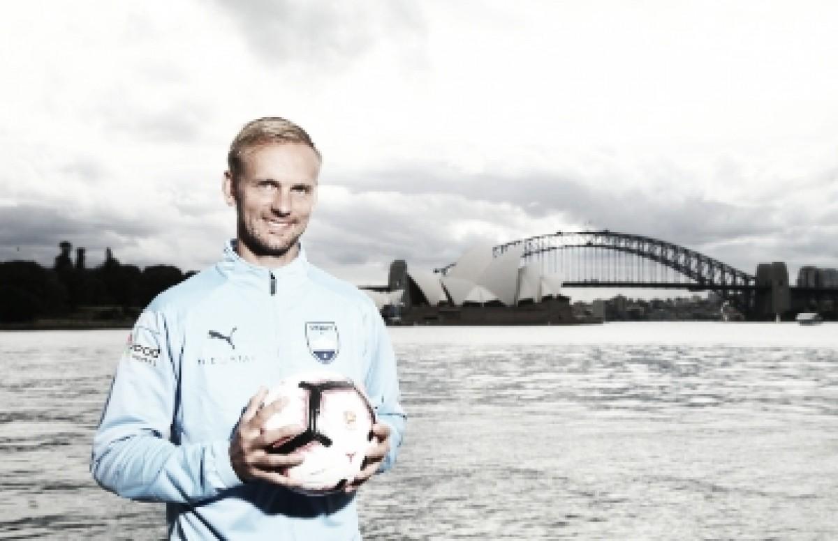 Siem de Jong, al fútbol de Australia