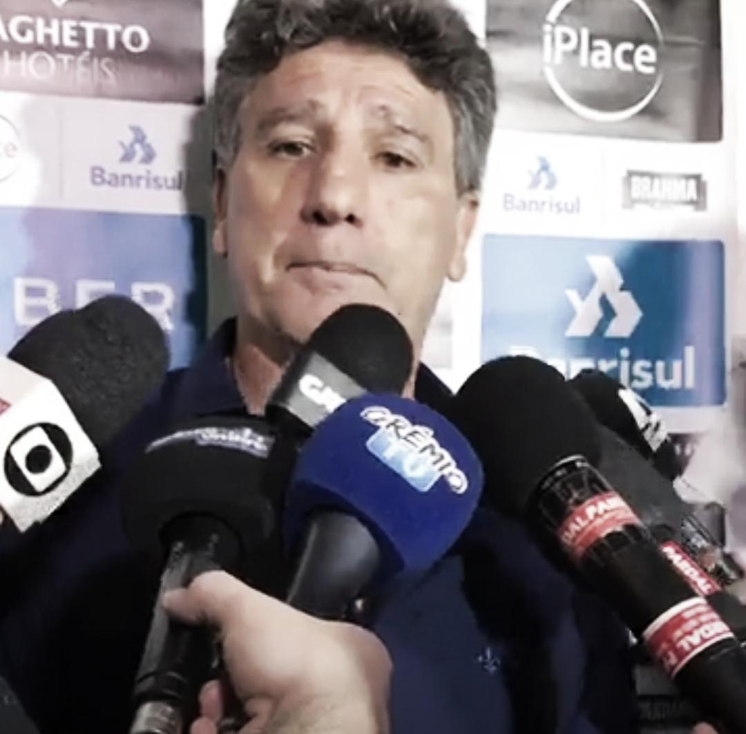 """Mesmo com empate, Portaluppi ainda crê em título do Grêmio: """"Temos chances"""""""