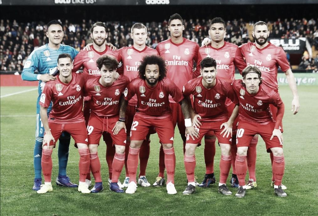 Valencia 2-1 Real Madrid: puntuaciones del equipo blanco, jornada 30 de La Liga Santander