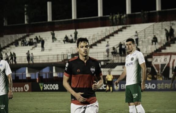 Atlético-GO vence Guarani e encosta na zona de classificação para a Série A do Brasileirão