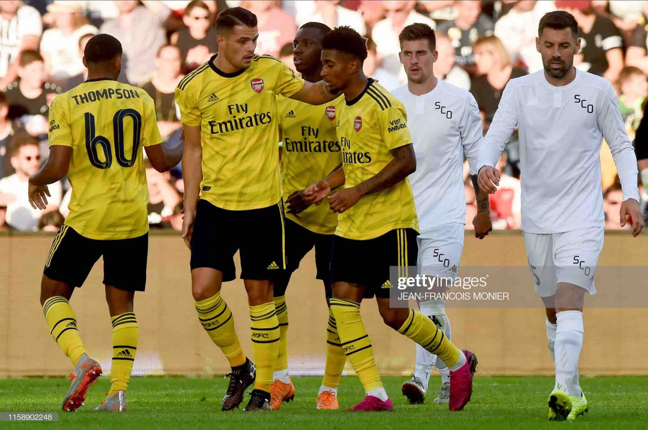 Angers SCO 1-1 Arsenal (Pens 3-4) : Gunners need penalties to see off Angers SCO