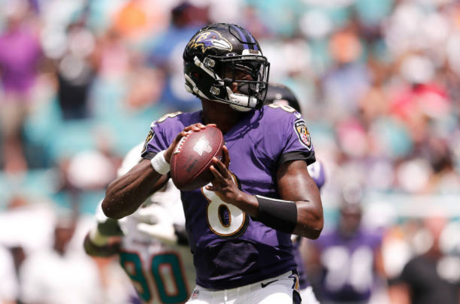 Baltimore Ravens 59-10 Miami Dolphins: Jackson Throws Five TD Passes For Record-Breaking Ravens