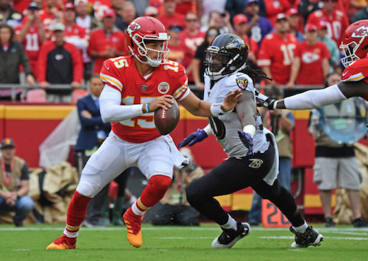 Baltimore Ravens 28-33 Kansas City Chiefs: Patrick Mahomes Guides Chiefs To Victory To Remain Unbeaten