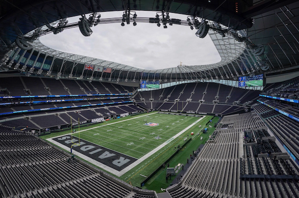 International Series 2019: Oakland Raiders and Chicago Bears meet in first game at the new Tottenham Hotspur Stadium