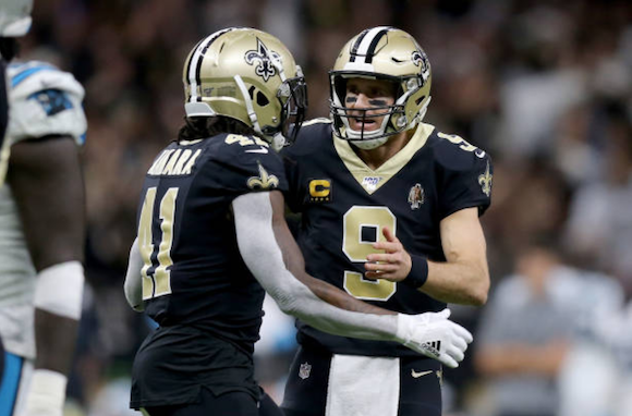 Carolina Panthers 31-34 New Orleans Saints: Lutz kicks game-winning field goal as Saints go closer to clinching NFC South title