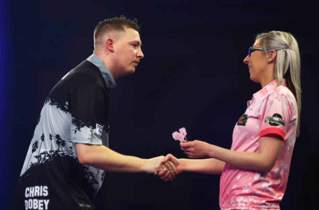 Fallon Sherrock's History-Making Run at PDC World Championship Ended by Chris Dobey