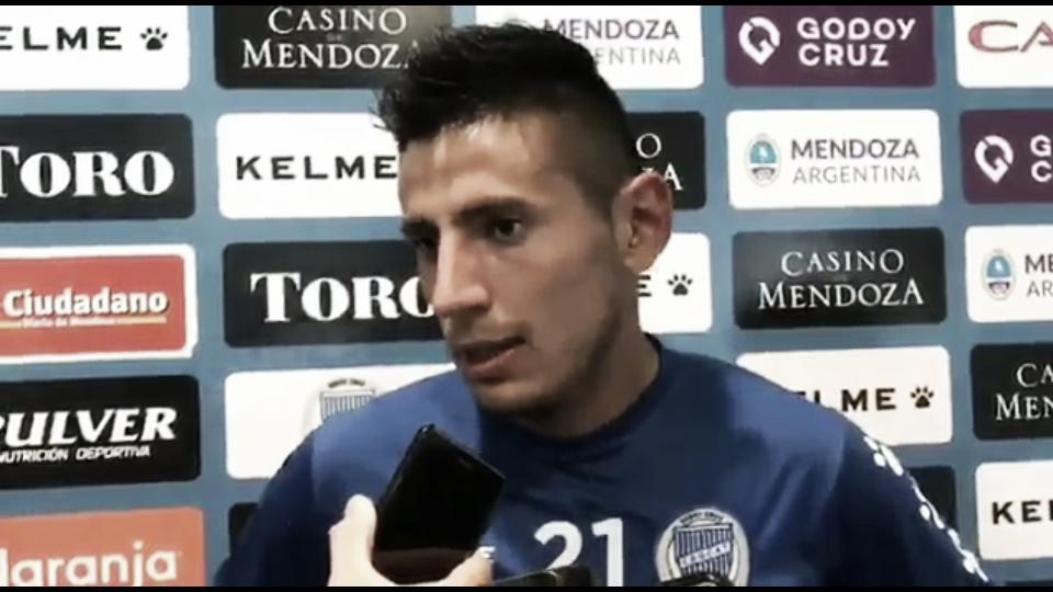 """Fabrizio Angileri: """"Las cosas están saliendo bien"""""""