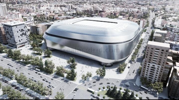 """Real Madrid anuncia reforma do Bernabéu, e Florentino promete: """"O melhor estádio do mundo"""""""