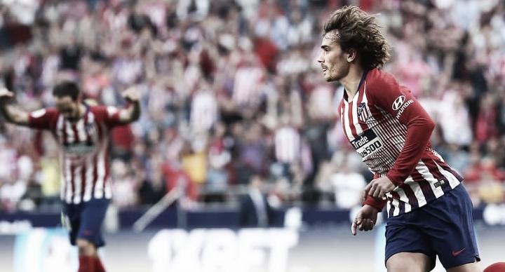 Griezmann brilha, Atlético de Madrid vence Celta e mantém esperanças de título na La Liga