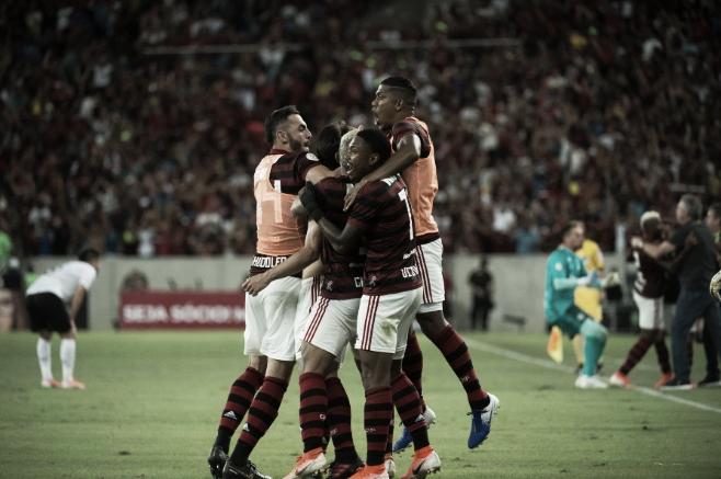 Não faltou emoção! Rodrigo Caio marca nos acréscimos e Flamengo derrota Athletico no Maracanã