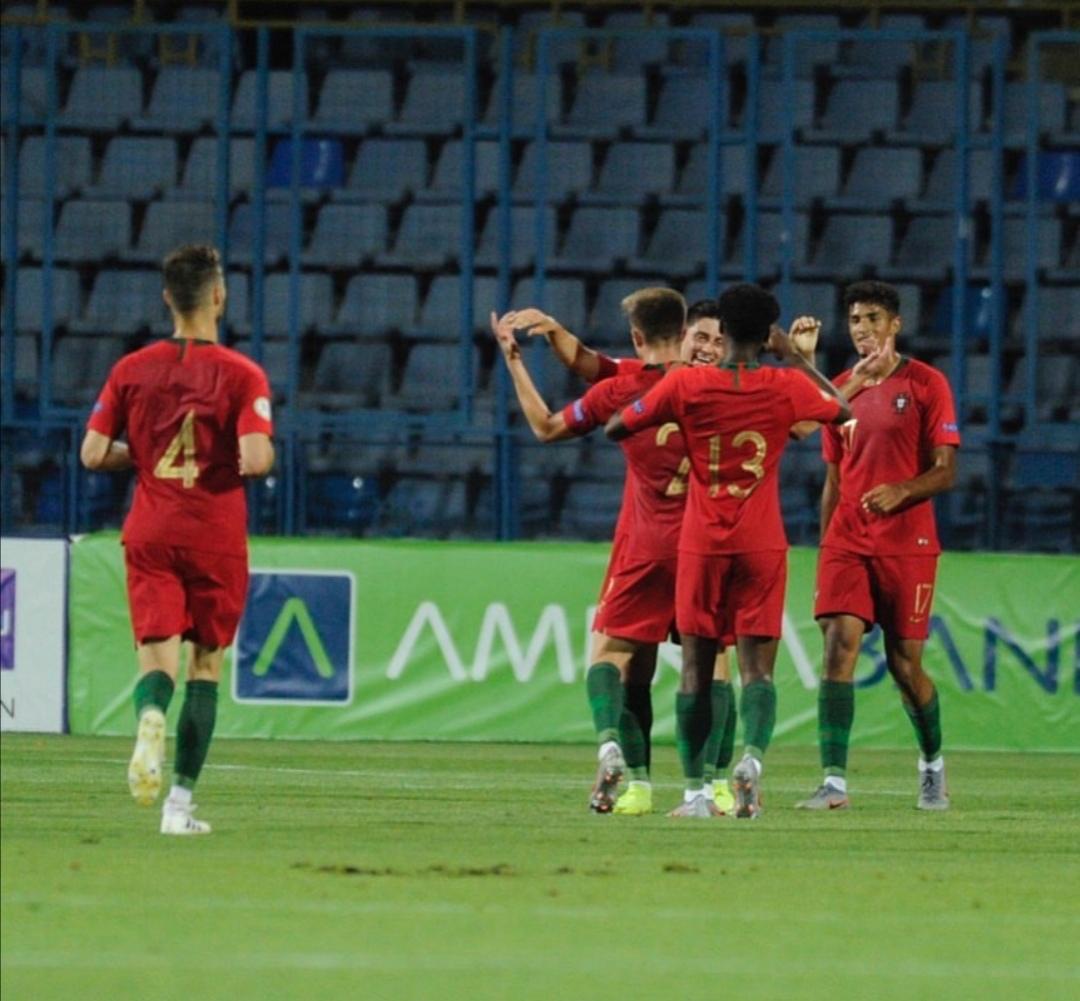 Sub 19 na final do Europeu