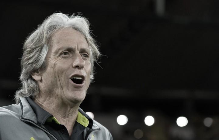 """Flamengo se recupera no Brasileiro, mas Jorge Jesus ressalta: """"Não há prioridades"""""""