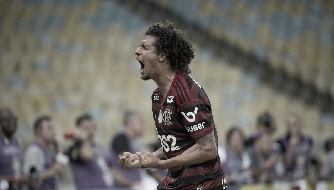 Arrascaeta agradece a torcida, e Arão diz que Flamengo aproveitou chances
