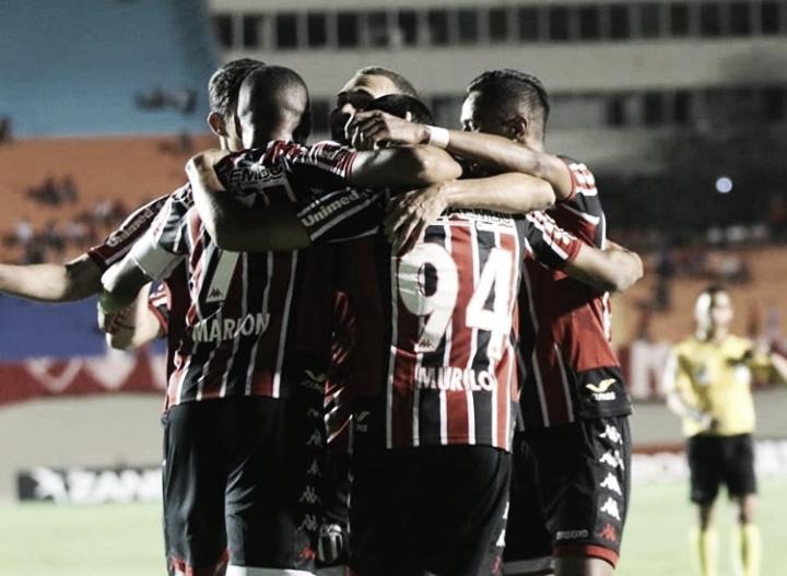Botafogo-SP vence Vila Nova com dois de Murilo Henrique e entra no G-4