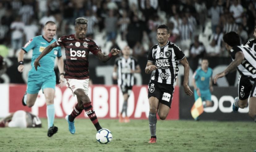 """Após vitória, Bruno Henrique diz: """"Contra o Flamengo todo mundo quer correr"""""""
