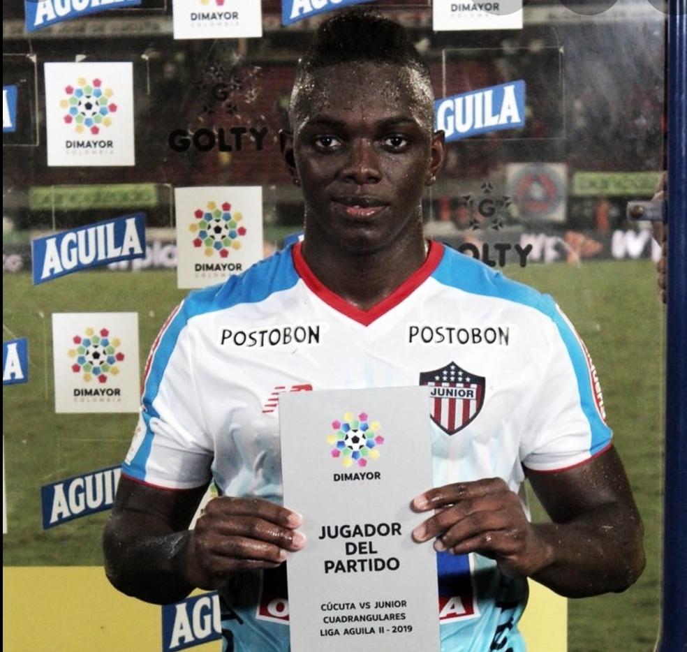 Edwuin Cetré: Figura de Junior ante Cúcuta