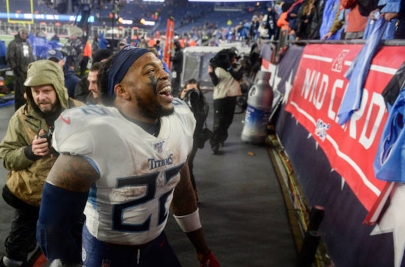 "Derrick Henry says Tennessee Titans ""Need to Keep Believing in Each Other"" after Patriots Playoff Victory"