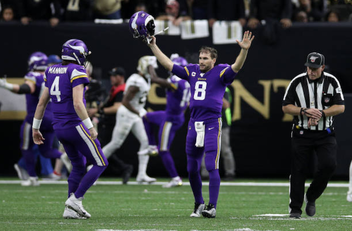 Minnesota Vikings 26-20 New Orleans Saints: Kirk Cousins Leads Game-Winning Drive in Overtime