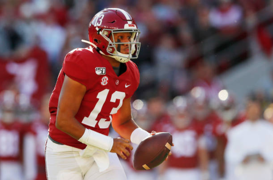 Alabama Quarterback Tua Tagovailoa Declares for 2020 NFL Draft