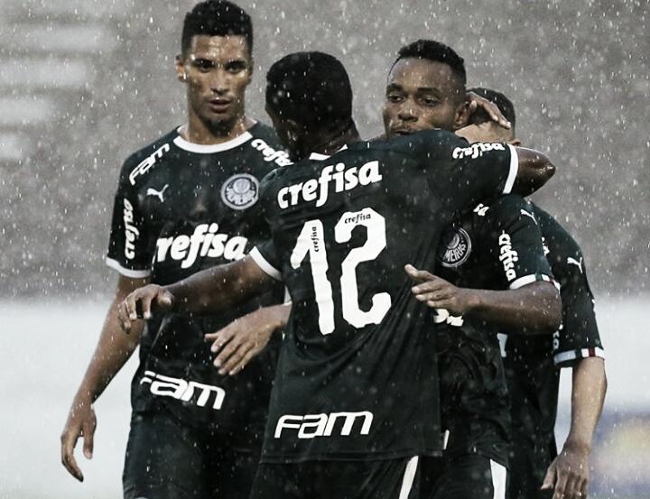 Palmeiras bate Sertãozinho e garante vaga para terceira fase da Copa São Paulo