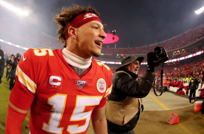 Quarterback Patrick Mahomes says Kansas City Chiefs learned lessons from last years AFC Championship defeat