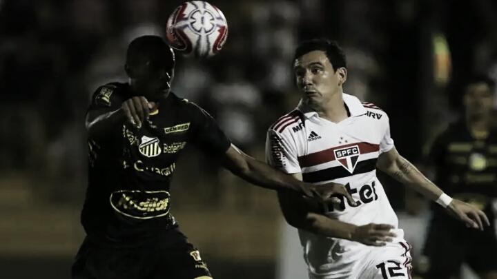 Em duelo de invictos, São Paulo e Novorizontino se enfrentam no Morumbi