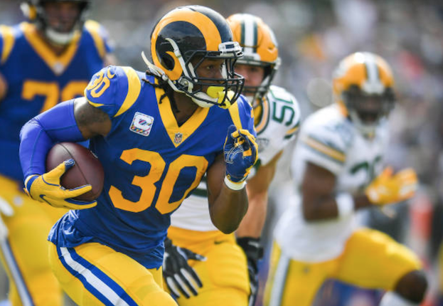 Los Angeles Rams release running-back Todd Gurley