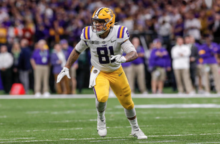 Washington Redskins sign undrafted tight end Thaddeus Moss, son of Hall of Famer Randy Moss