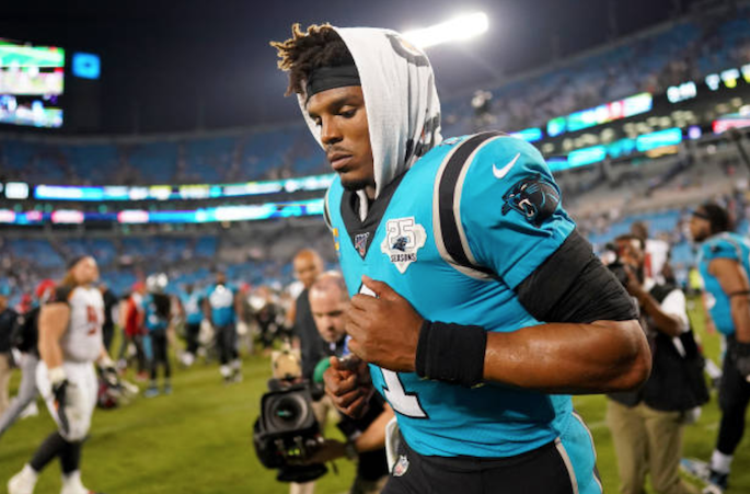 "Washington Redskins HC Ron Rivera says signing Cam Newton ""depends on circumstances"""