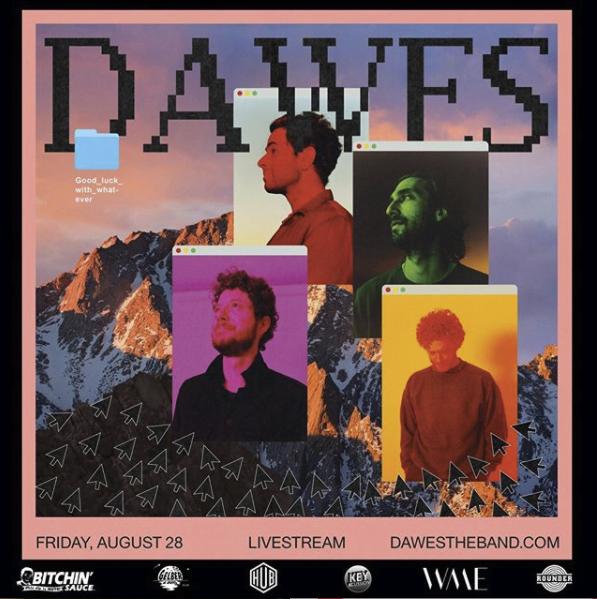 Dawes anuncia concierto online para finales de agosto
