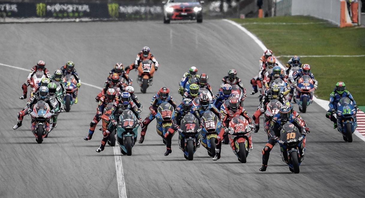 Los pilotos de Moto2 / Foto: motogp.com